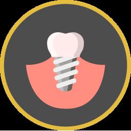 Zahnimplantat Icon