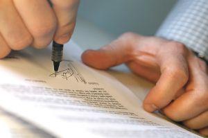 Privat versichert unterschreiben